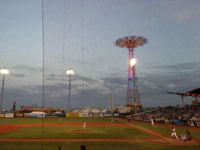 MCU Park, section: 7, row: H, seat: 1