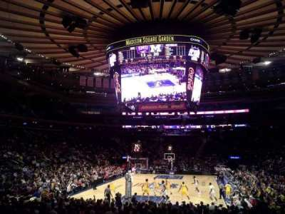 Madison Square Garden, section: 103, row: 10, seat: 1