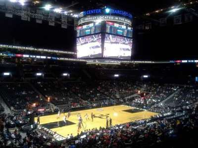 Barclays Center, section: 111, row: 7, seat: 18
