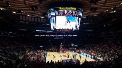 Madison Square Garden, section: 101, row: 16, seat: 17