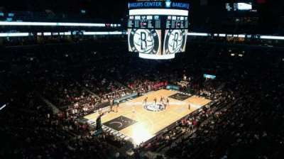 Barclays Center, section: 228, row: 7, seat: 1