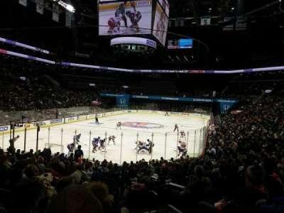 Barclays Center, section: 115, row: 18, seat: 1