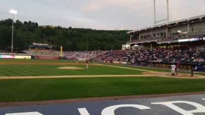 PNC Field, section: 25, row: 4, seat: 11