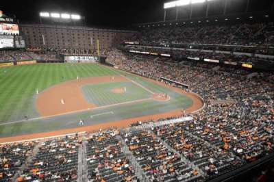 Oriole Park at Camden Yards, section: 356, row: 1, seat: 1