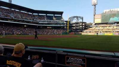 PNC Park, section: 6, row: C, seat: 8