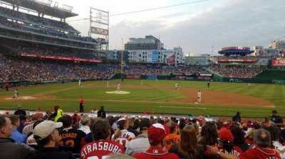 Nationals Park, section: 129, row: Z, seat: 11