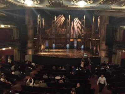 PrivateBank Theatre, section: Dress Circle C, row: A, seat: 208