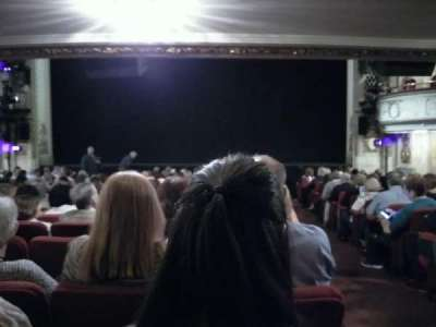 Cort Theatre, section: Orchestra, row: O, seat: 112