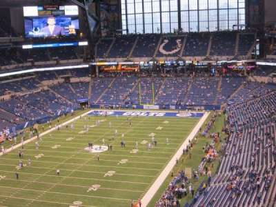 Lucas Oil Stadium section 624