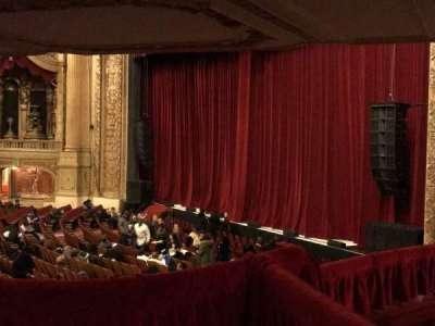Chicago Theatre section Mezzanine Box C