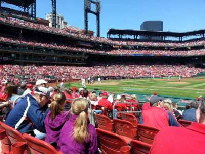 Busch Stadium section 143
