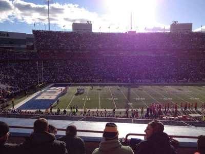 New Era Field, section: 214, row: 4, seat: 8