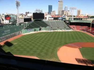 Fenway Park section Pavilion Box