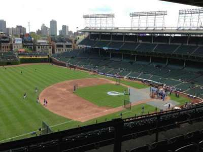Wrigley Field, section: 509, row: 4, seat: 5