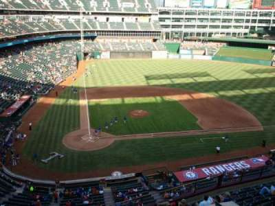 Globe Life Park in Arlington section Nolan Ryan Suite 225A
