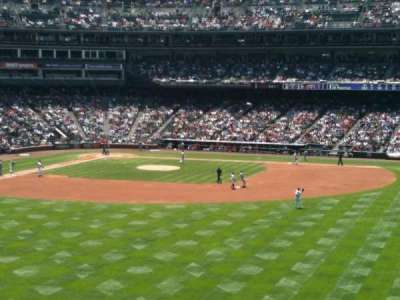 Coors Field, section: 204, row: 2, seat: 8