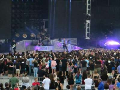 Jones Beach Theater, section: 11R, row: J, seat: 12