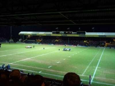 Headingley Stadium, section: B, row: M, seat: 20