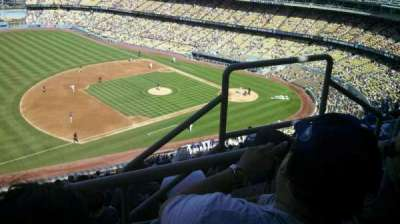 Dodger Stadium, section 29RS, home of Los Angeles Dodgers