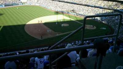 Dodger Stadium section 29RS