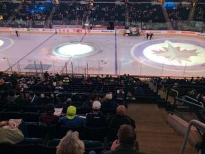 MTS Centre, section: 205, row: 7, seat: 10