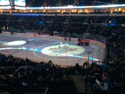 MTS Centre, section: 203, row: 5, seat: 6
