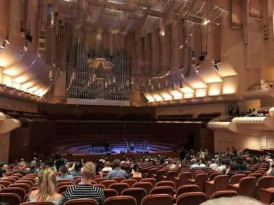 Davies Symphony Hall, section: uporch, row: CC, seat: 11