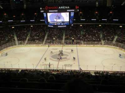 Rogers Arena, section: 308, row: 11, seat: 10