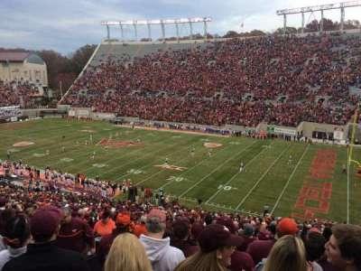 Lane Stadium section 18