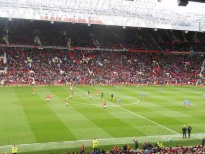 Old Trafford, section: STH 221, row: S, seat: 184