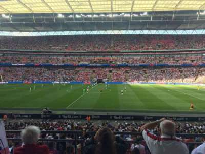 Wembley Stadium, section: 122, row: 31, seat: 299