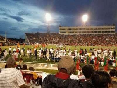 Ladd Peebles Stadium, section: R, row: 6, seat: 24