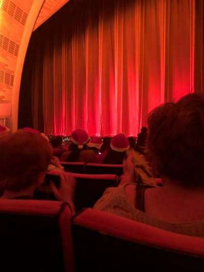 Radio City Music Hall, section: Orchestra 2, row: LL, seat: 206