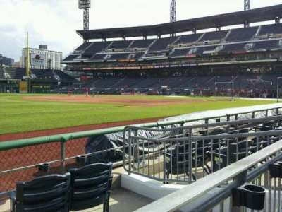 PNC Park, section: 27, row: D, seat: 12