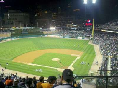 Comerica Park section 330