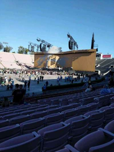 Rose Bowl, section: 17-L, row: 12, seat: 7