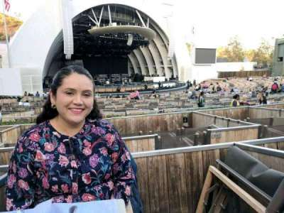 Hollywood Bowl, section: terrace 6, row: 1164, seat: 4