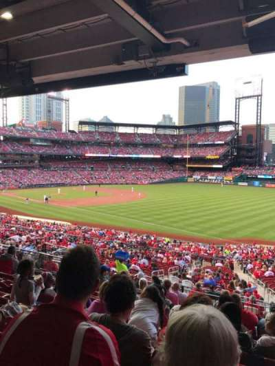 Busch Stadium, section: 134, row: 29, seat: 17
