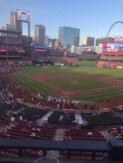 Busch Stadium, section: Redbird Roost, row: A, seat: 5