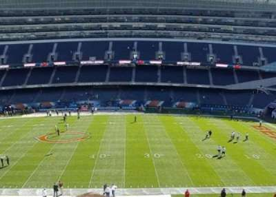 Soldier Field, section: 335, row: 2