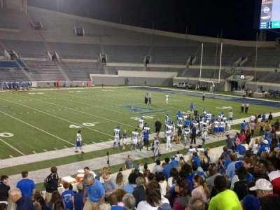 Liberty Bowl Memorial Stadium, section: 105, row: 20, seat: 01