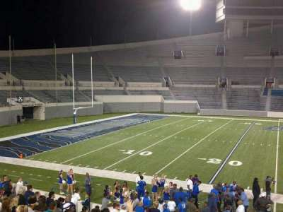 Liberty Bowl Memorial Stadium, section: 106, row: 20, seat: 01