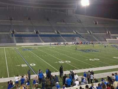 Liberty Bowl Memorial Stadium, section: 107, row: 20, seat: 01