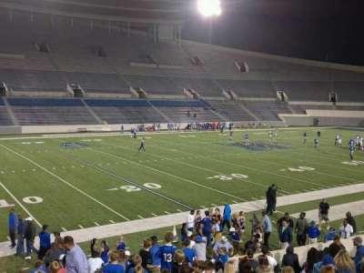 Liberty Bowl Memorial Stadium, section: 108, row: 20, seat: 01
