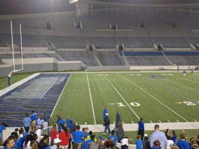 Liberty Bowl Memorial Stadium, section: 108, row: 20, seat: 01