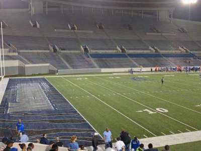 Liberty Bowl Memorial Stadium, section: 109, row: 20, seat: 01