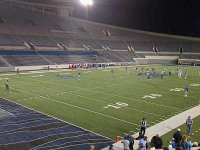 Liberty Bowl Memorial Stadium, section: 110, row: 20, seat: 01