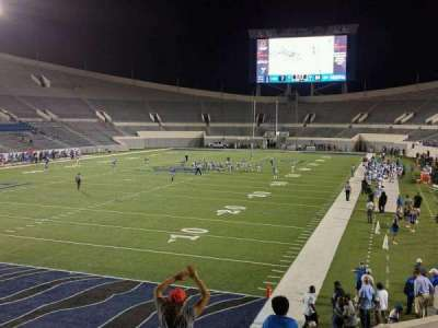Liberty Bowl Memorial Stadium, section: 111, row: 20, seat: 01