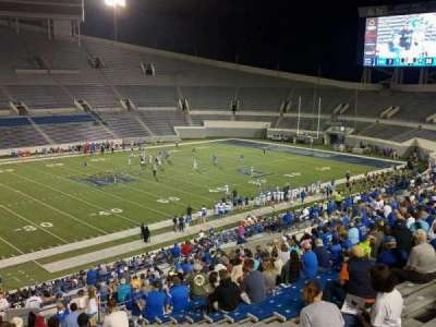 Liberty Bowl Memorial Stadium, section: 106, row: 50, seat: 10