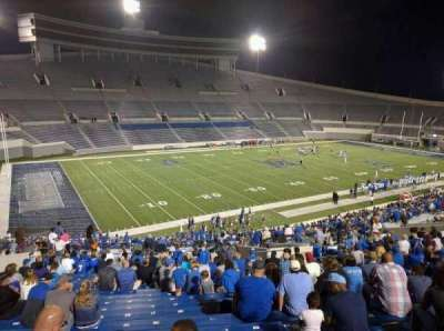 Liberty Bowl Memorial Stadium, section: 108, row: 50, seat: 10